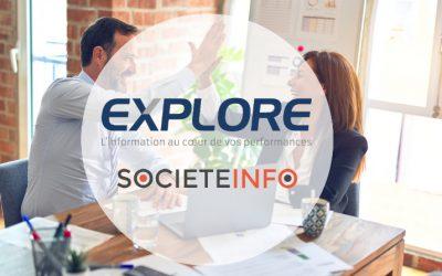 Marché de la donnée BtoB: Explore s'associe à Societeinfo.com