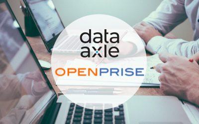 Data Axle étend son offre Données pour les PME sur la plateforme Openprise