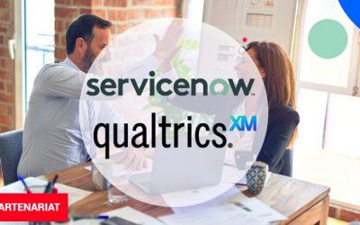 ServiceNowet Qualtrics concluent un partenariat au service de la relation client