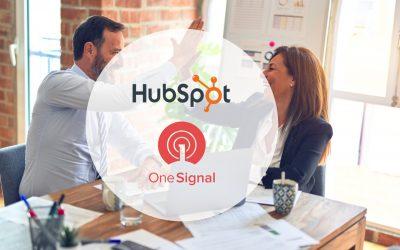 HubSpot investit et collabore avec OneSignal