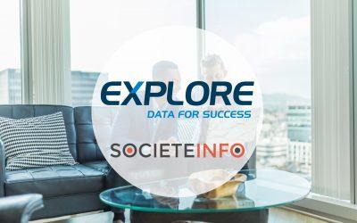Explore et Societeinfo.com finalisent leur partenariat