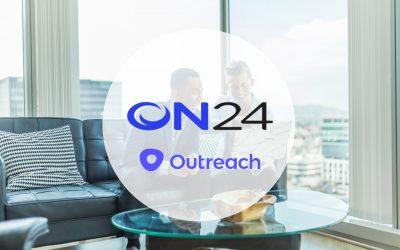 ON24 et Outreach s'associent pour augmenter le taux de conversion de leurs clients