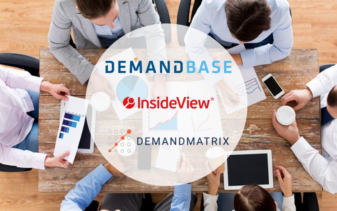 Demandbase conclut l'acquisition d'InsideView et DemandMatrix
