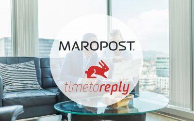 Le partenariat Maropost et Timetoreply rapproche l'automatisation et l'analyse marketing