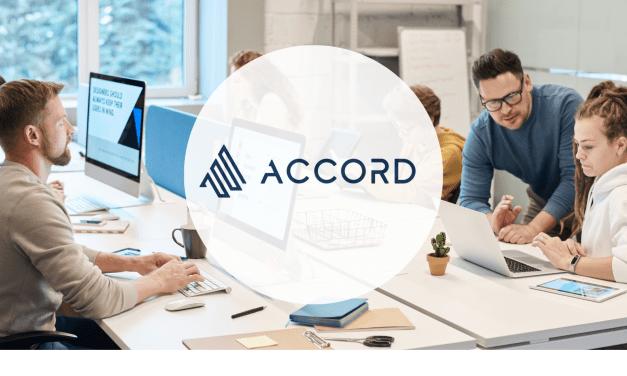 Accord, plateforme de vente B2B, lève un million de dollars pour son premier tour de table
